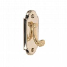 Constable Single Robe Hook on Backplate