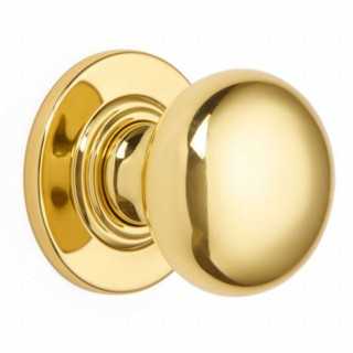 Bun Door Knob on Covered Rose